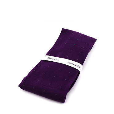 Violet Cotton long socks