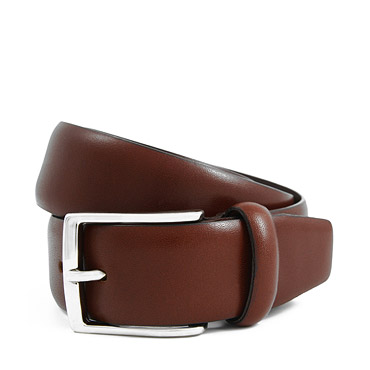 Brown French Calfskin Belt