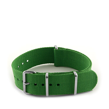 Natostrap Green Solid Color 20mm