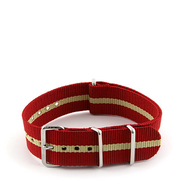 Natostrap Red Regimental 20mm