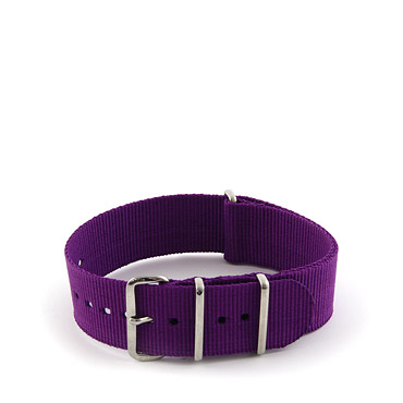 Natostrap Violet Solid Color 22mm