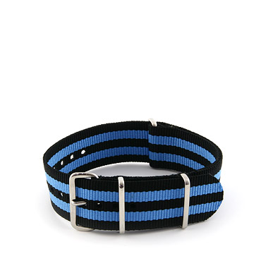 Natostrap Azure Regimental 22mm