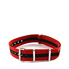 Natostrap Red Regimental 18mm