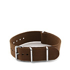 Natostrap Brown Solid Color 20mm
