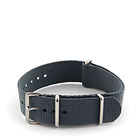 Natostrap Grey Solid Color 20mm