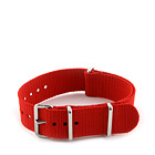 Natostrap Red Solid Color 20mm