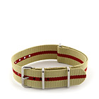 Natostrap Beige Regimental 20mm