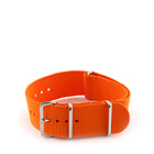 Natostrap Orange Solid Color 24mm