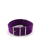 Natostrap Violet Solid Color 24mm