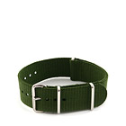 Natostrap Green Solid Color 22mm