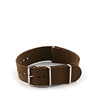 Natostrap Brown Solid Color 22mm