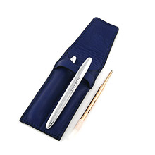 Porta penne con Fisher Space Pen e Refill marrone