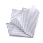 Blu Striped Handkerchief