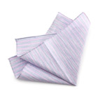 Light Blu Striped Handkerchief