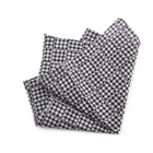 Grey Checked Handkerchief
