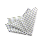 Beige Checked Handkerchief