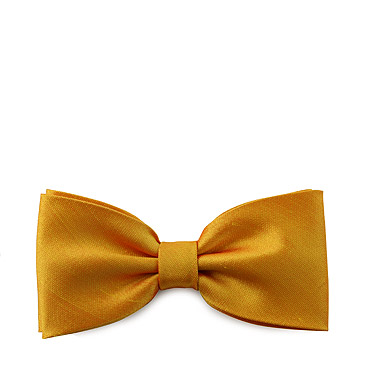 Orange Tied Bow tie