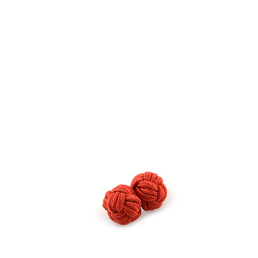 Orange Jacket brooch